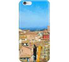 Siena Roofs iPhone Case/Skin