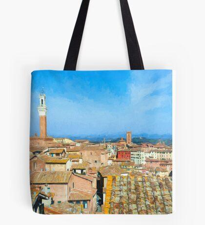 Siena Roofs Tote Bag