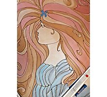 Art Nouveau Woman Photographic Print