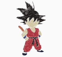Little Saiyan Drawing by mayumiku