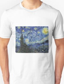 Low-Poly Starry Night T-Shirt