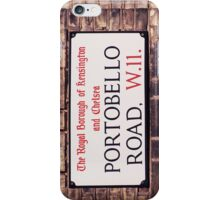 Portobello Road iPhone Case/Skin