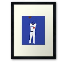 "Kershaw ""No-Hitter"" Framed Print"