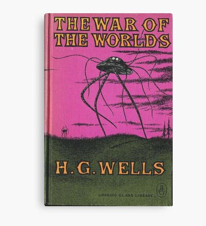 The War of the Worlds by HG Wells Canvas Print