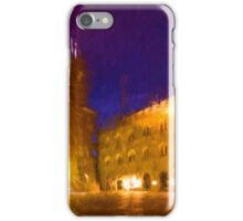 Volterra Tuscany, Piazza Dei Priori By Night iPhone Case/Skin