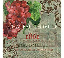 Beaujolais nouveau 1 Photographic Print