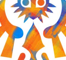 Majora's Crest Orange Sticker