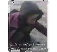 ~bread picker~ (snippet) iPad Case/Skin