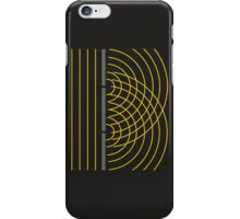 Double Slit Light Wave Particle Science Experiment iPhone Case/Skin