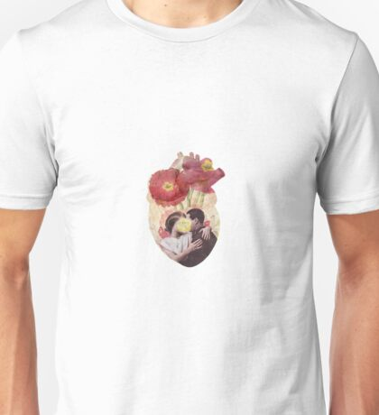 You Are In My Heart - floral version Unisex T-Shirt