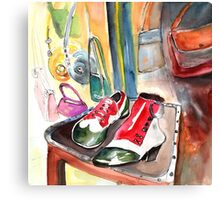 Italian Shoes 02 Canvas Print