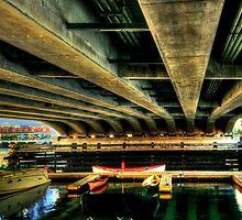 Under the bridge! by LudaNayvelt