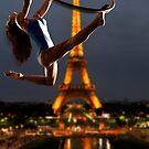 Acrobatics over Paris by Carnisch