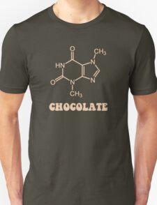 Scientific Chocolate Element Theobromine Molecule T-Shirt