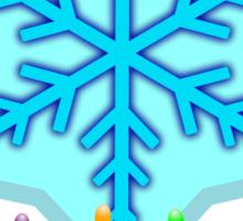 Holiday Lights Sticker