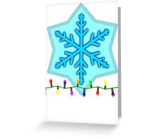 Holiday Lights Greeting Card