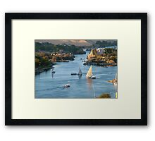 Cataracts of the Nile Egypt Framed Print