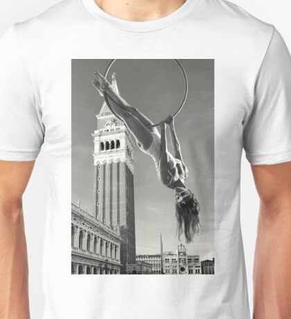 Acrobatics over Venice Unisex T-Shirt