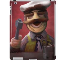Muppet Maniacs - Swedish Chef as Leatherface iPad Case/Skin