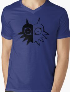 Majora's Mask Half Mens V-Neck T-Shirt