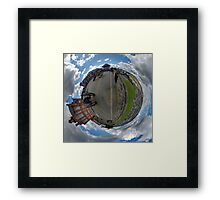 Verbal Arts Centre on the Walls of Derry Framed Print