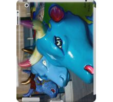 Three Cows on Parade, Ebrington Sq, Derry iPad Case/Skin