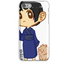 Hetalia: Chibi Japan and Pochi iPhone Case/Skin