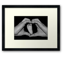 Daddy's Little Girl Framed Print