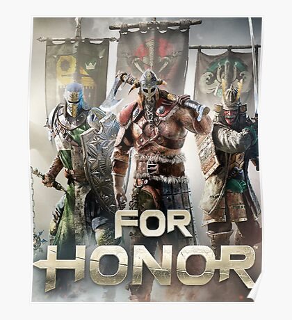 For Honor - The Game Poster