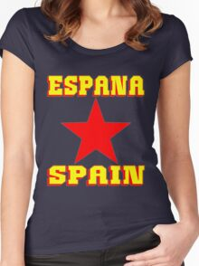 ESPANA Women's Fitted Scoop T-Shirt