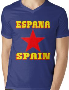 ESPANA Mens V-Neck T-Shirt