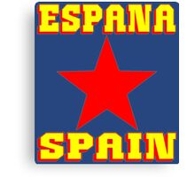 ESPANA Canvas Print