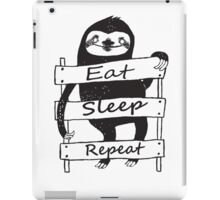 Funny sloth t-shirt and more iPad Case/Skin