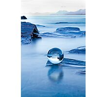 Blue crystal II Photographic Print