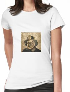 pug 14a Womens Fitted T-Shirt