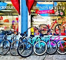 Allentown NJ - Bicycles and Chocolate by Susan Savad