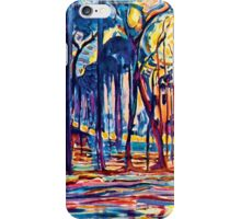 Mondrian Woods Near Oele iPhone Case/Skin