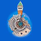 Doge's Palace & San Marco Little Planet by dunawori