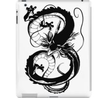 Black Dragon (1 color) iPad Case/Skin