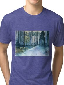 Forest Light Tri-blend T-Shirt
