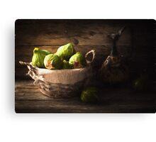 Ripe Figs Canvas Print