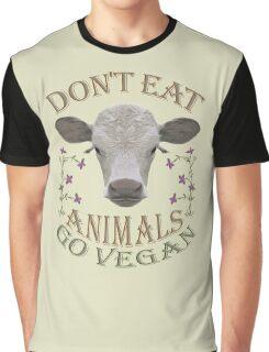 DON'T EAT ANIMALS - GO VEGAN Graphic T-Shirt