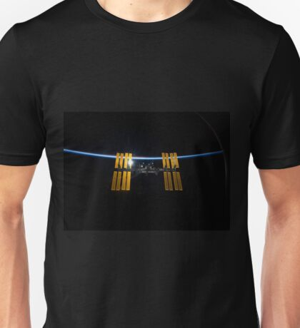 International Space Station from the Discovery Unisex T-Shirt