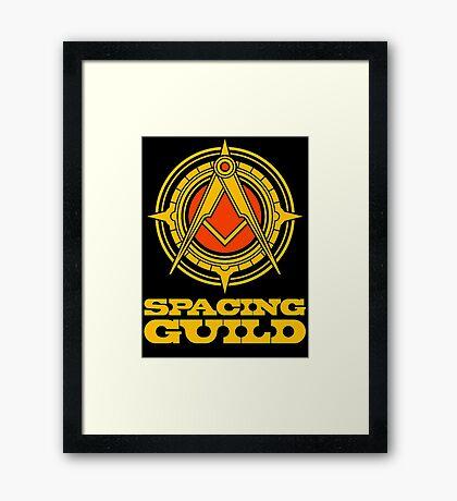 spacing guild Framed Print