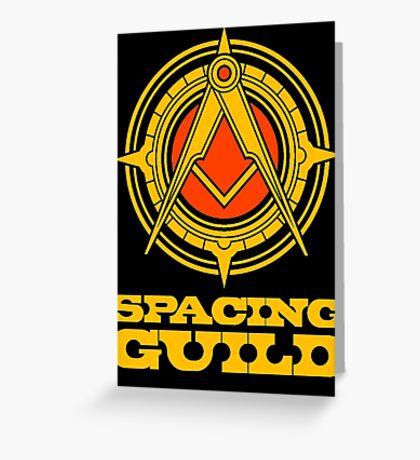 spacing guild Greeting Card