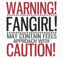 WARNING! FANGIRL (II) T-Shirt