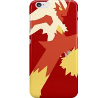 Bad-ass Blaziken iPhone Case/Skin