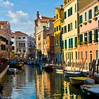Reflections of Venice II by dunawori
