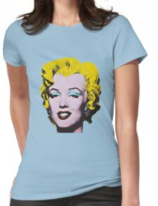 Marilyn Monroe Art Womens Fitted T-Shirt