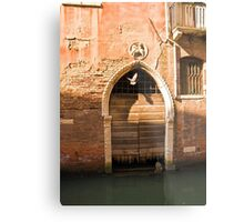 Down but never out Metal Print